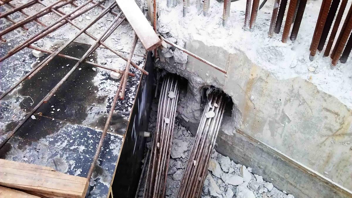 Post Tensioning Beam : Post tensioning for building slab beam tmg